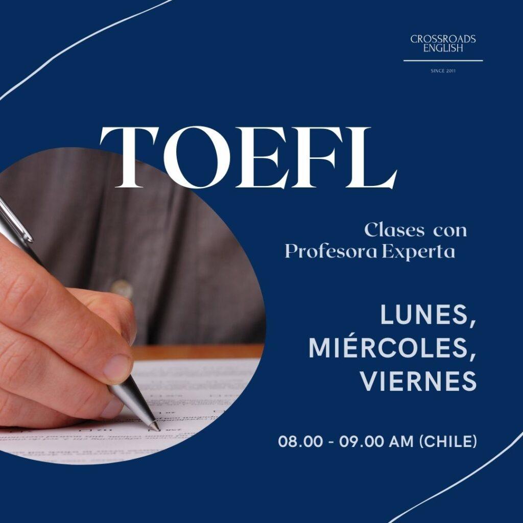 TOEFL paso a paso! El curso más completo y accesible por la profesora experta.